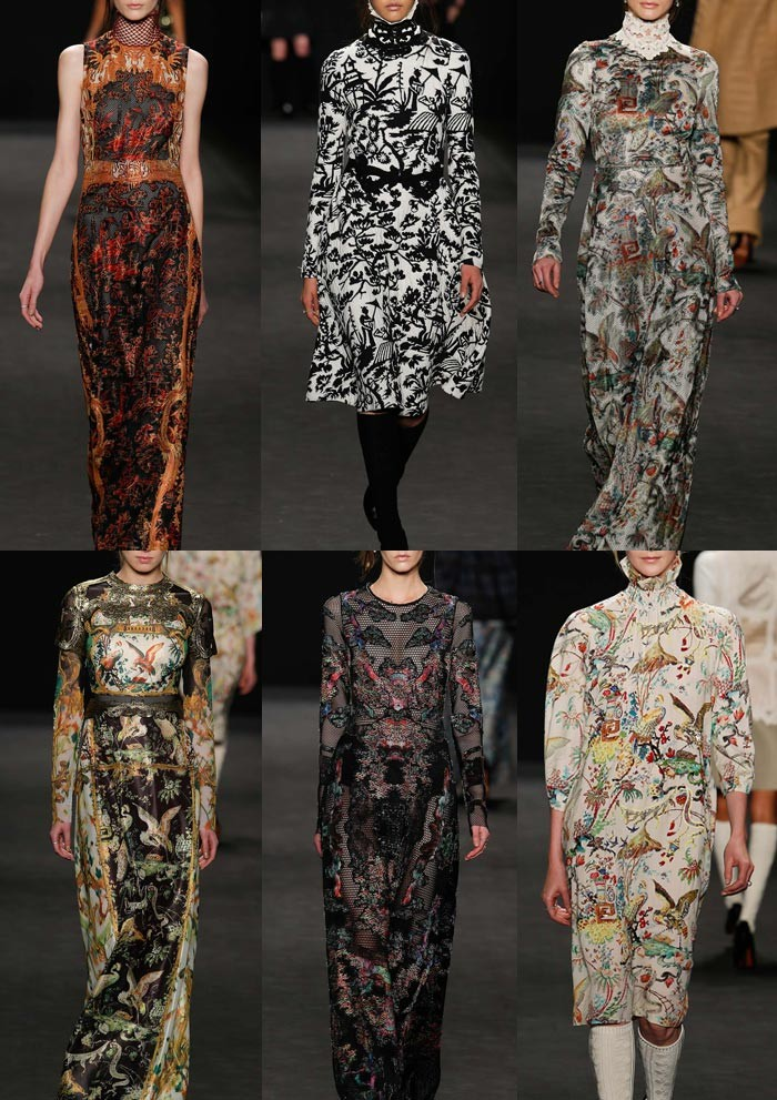 TRENDS // PATTERNBANK - NYFW . AW 2015/16 WOMENS' CATWALK PRINT HIGHLIGHTS PART 2
