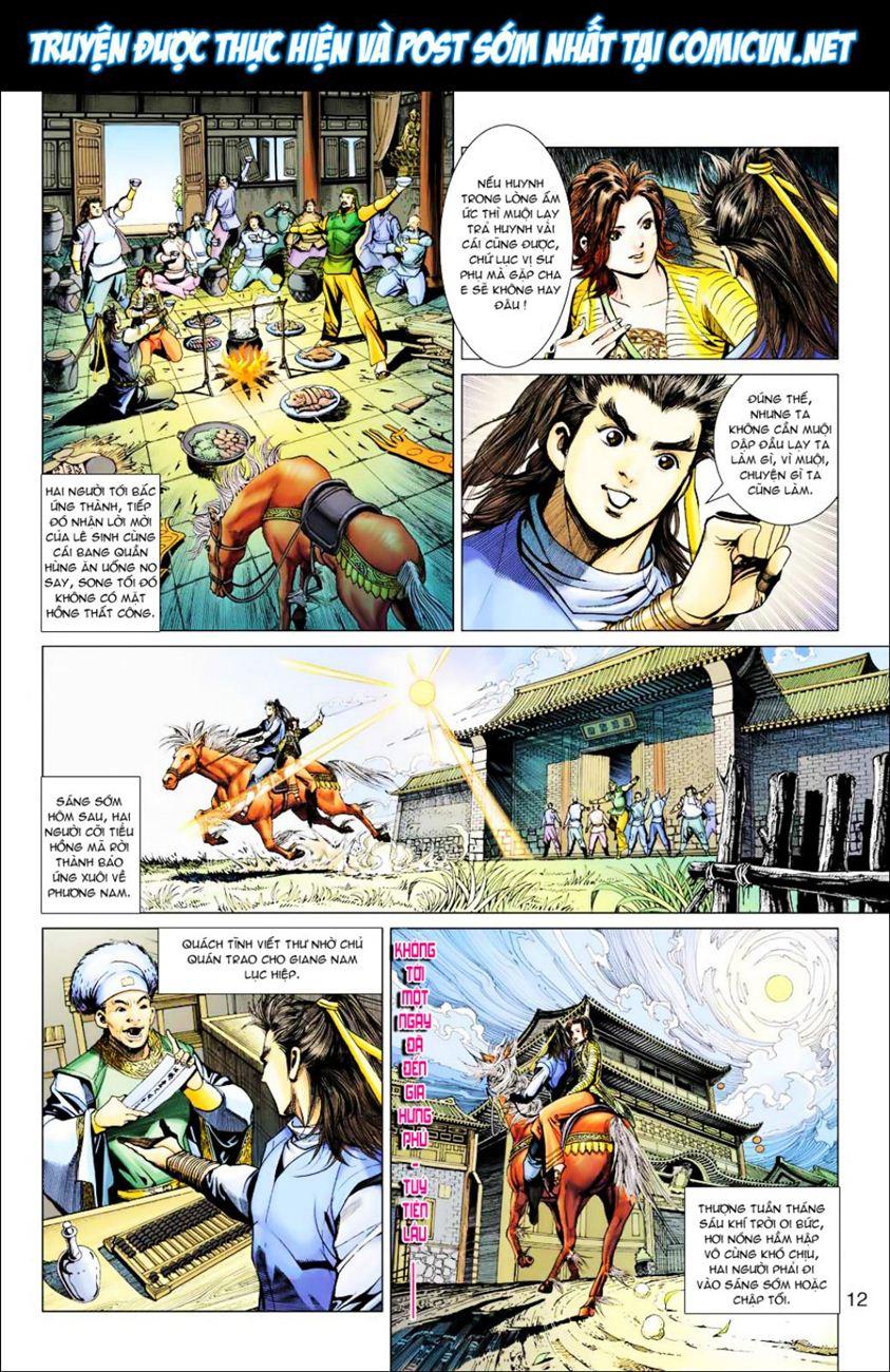 Anh Hùng Xạ Điêu anh hùng xạ đêu chap 39 trang 12