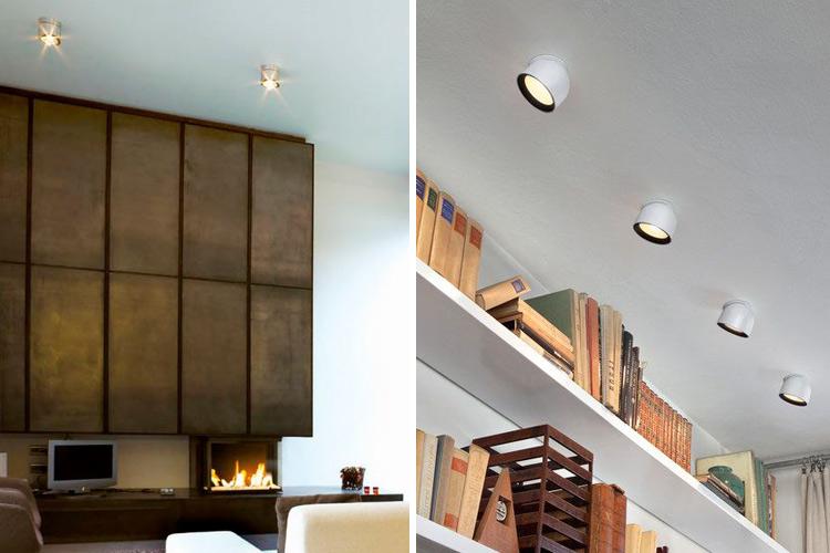 Marzua iluminaci n con focos de superficie - Iluminacion falso techo ...
