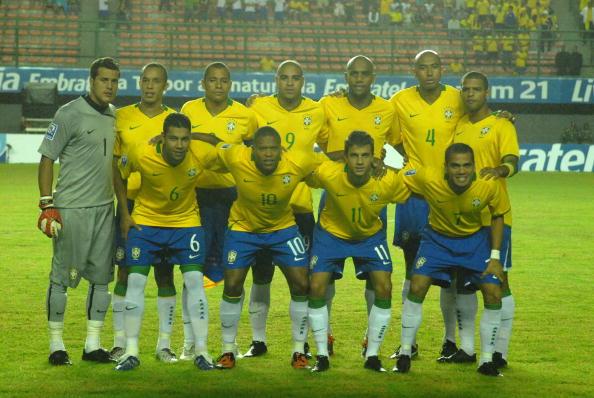 Formación de Brasil ante Chile, Clasificatorias Sudáfrica 2010, 9 de septiembre de 2009