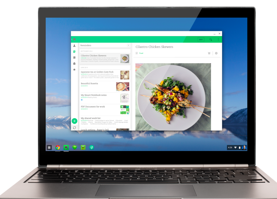 Google Chrome OS也能使用Android App了!