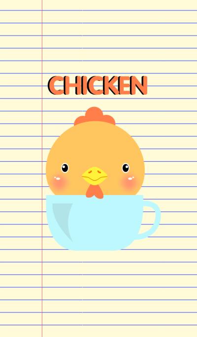 Simple Cute Chicken Theme Vr.2