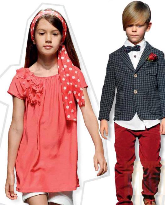 Тенденции детской моды сезона весна-лето 2013
