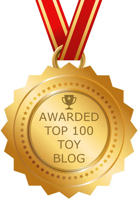 Feedspot's Top 100 Toy Blog Award