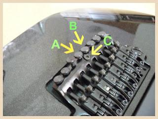 bagian gitar listrik Tuning lock