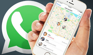 "Fungsi ""Share Live Location"" Pada WhatsApp"