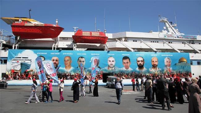 Turkish people mark anniversary of deadly Israeli attack on Gaza-bound flotilla