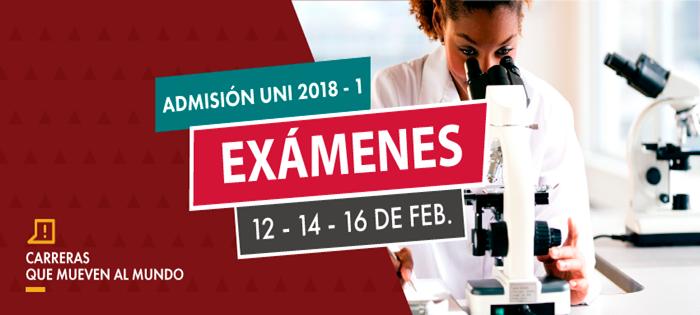 Resultados Examen de Admisión UNI Primera Prueba 12 febrero 2018