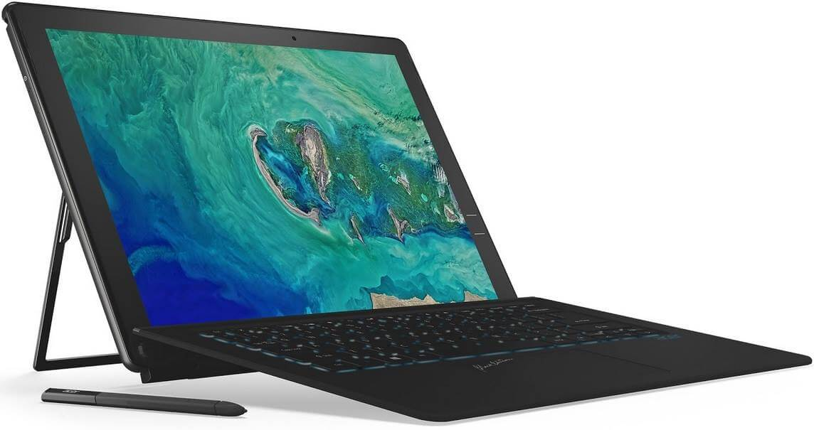 Acer Launches Swift 5, Spin 5 and Switch 7 Black Edition Convertible Notebooks