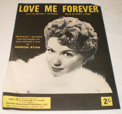 Marion Ryan -  Love Me Forever(Pye Records 1955-59)