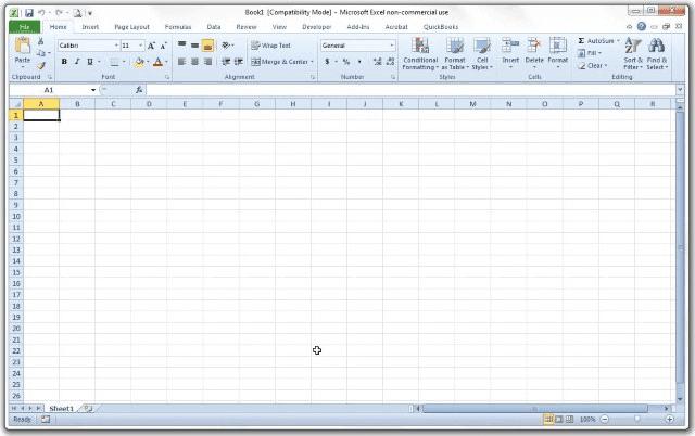 Microsoft Excel 2010 (v14.0)