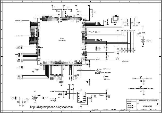 nokia 1200 lcd diagram