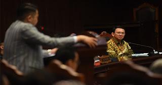MK Tolak Putar Video Ahok saat di Kepulauan Seribu