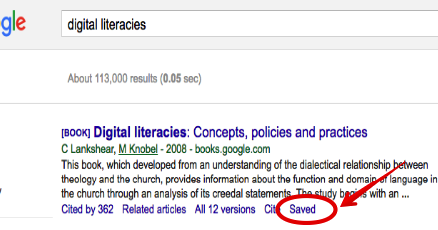 Teachers Guide to Google Scholar Library
