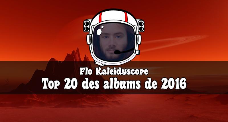 Top 20 de Flo Kaleidyscope | Amiral chez La Planète du Stoner Rock
