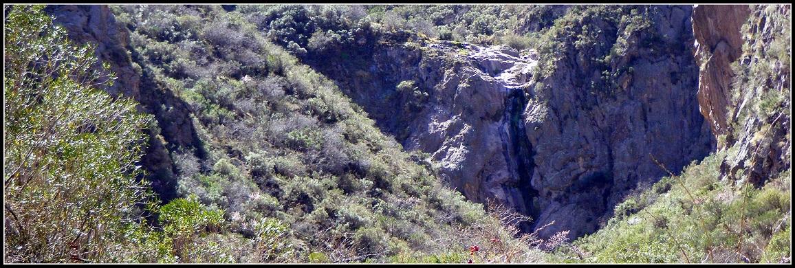 Cascada en la Quebrada de los Berros - Luján de Cuyo - MENDOZA