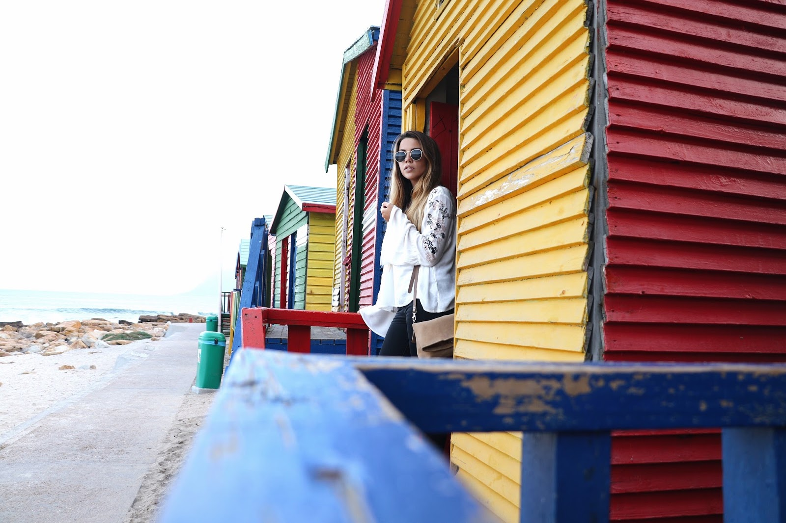 muizenberg beach huts, copper garden travel blogger