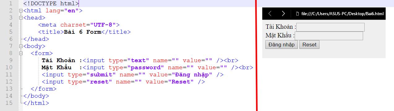 Học html cơ bản- [Series Html] Bài 6: Biểu mẫu (Form ) trong html - AnonyHome