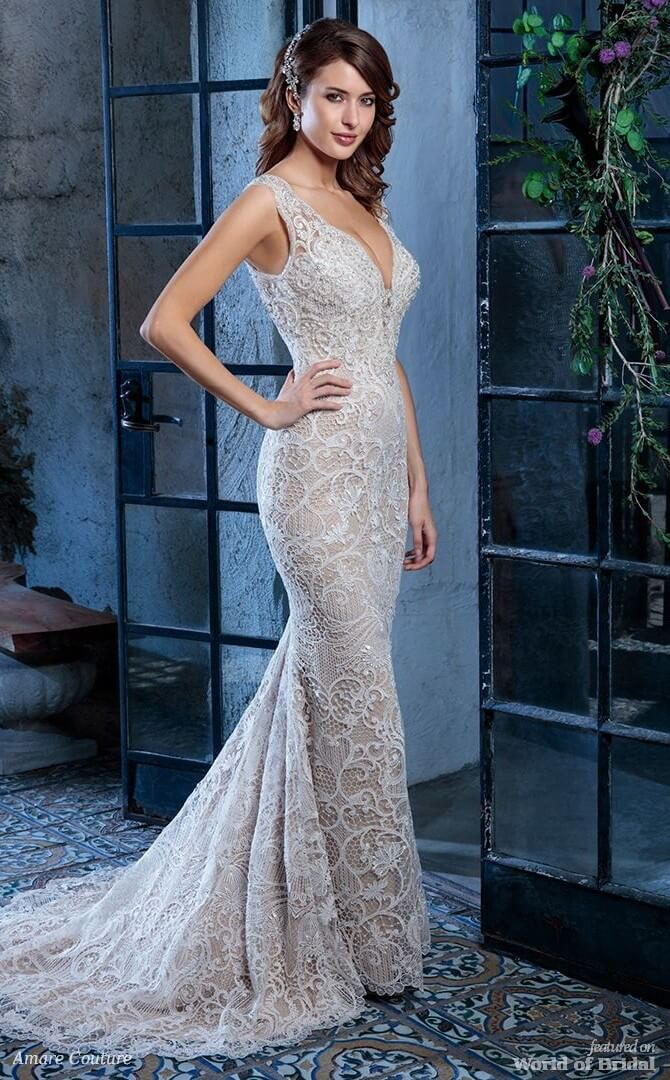 Amare Couture Spring 2018 Wedding Dresses - World of Bridal