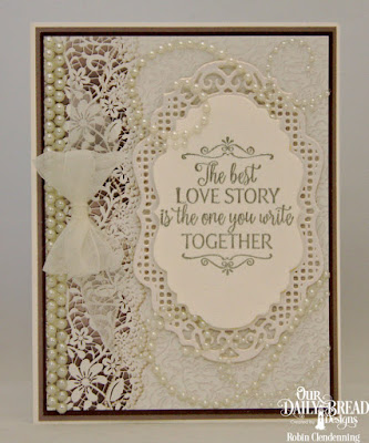 Our Daily Bread Designs, Happily Ever After, Vintage Borders, Vintage Labels, Wedding Wishes, By Robin Clendenning
