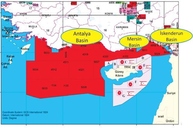 Η Τουρκία ενημέρωσε τον ΟΗΕ για γεωτρήσεις στην κυπριακή ΑΟΖ