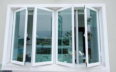 mẫu cửa sổ nhôm kính Việt Pháp
