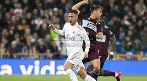 سيلتا فيغو يفرض التعادل الاجابي على ريال مدريد في الجولة 24 من الدوري الاسباني