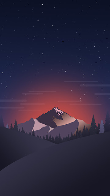 Mountain Stock Wallpaper Galaxy A9 Pro