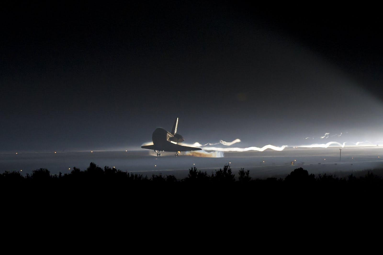 AubreyJ.org: Watch Landing Live of Space Shuttle Atlantis ...