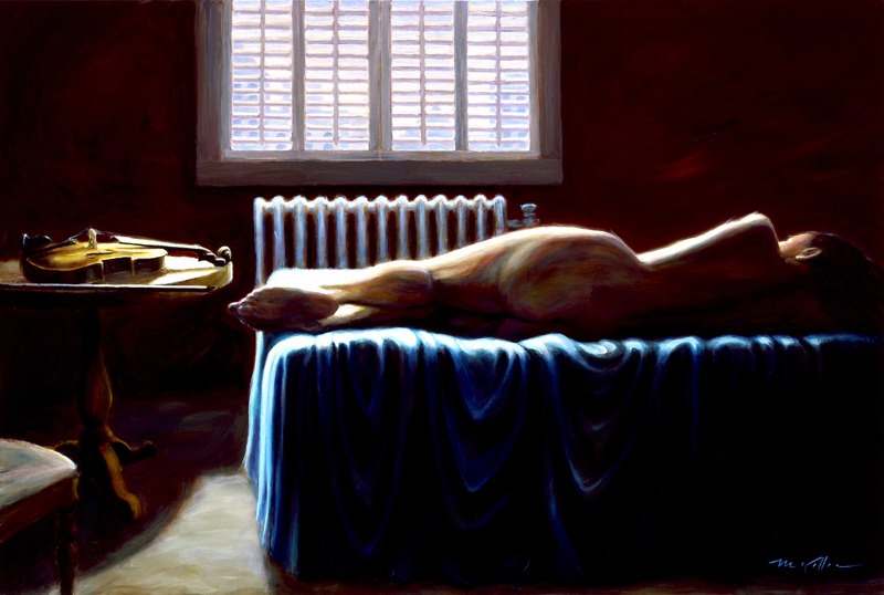 Mark Keller | American Figurative painter