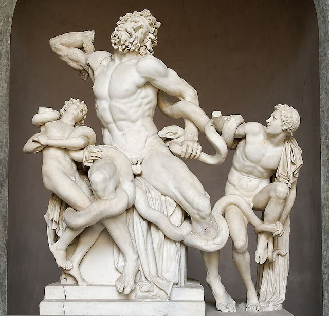 Mannerism role-model: Laocoön and His Sons/psartworks.in