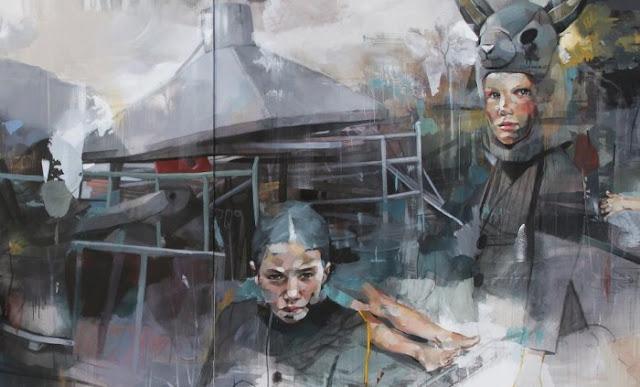 Современное искусство из Франции. Pascal Vilcollet 11