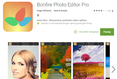Bonfire Photo Editor