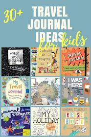 30+ travel journal ideas for kids: DIY, notebooks, printables, foreign language books, etc.