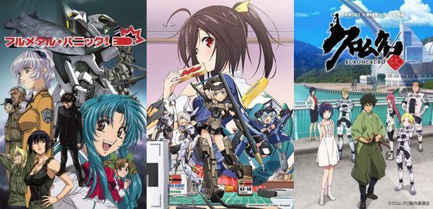 rekomendasi anime mecha terbaik terkeren