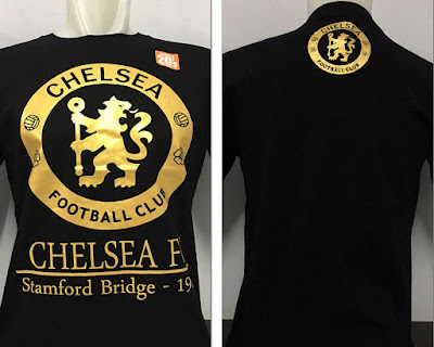 Kaos Bola Chelsea United Gold