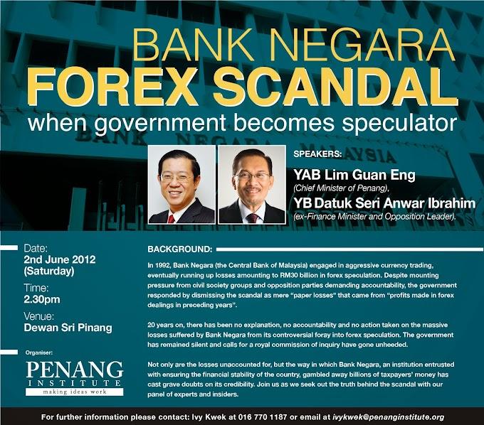 Skandal Forex Bank Negara Malaysia 1992-1993
