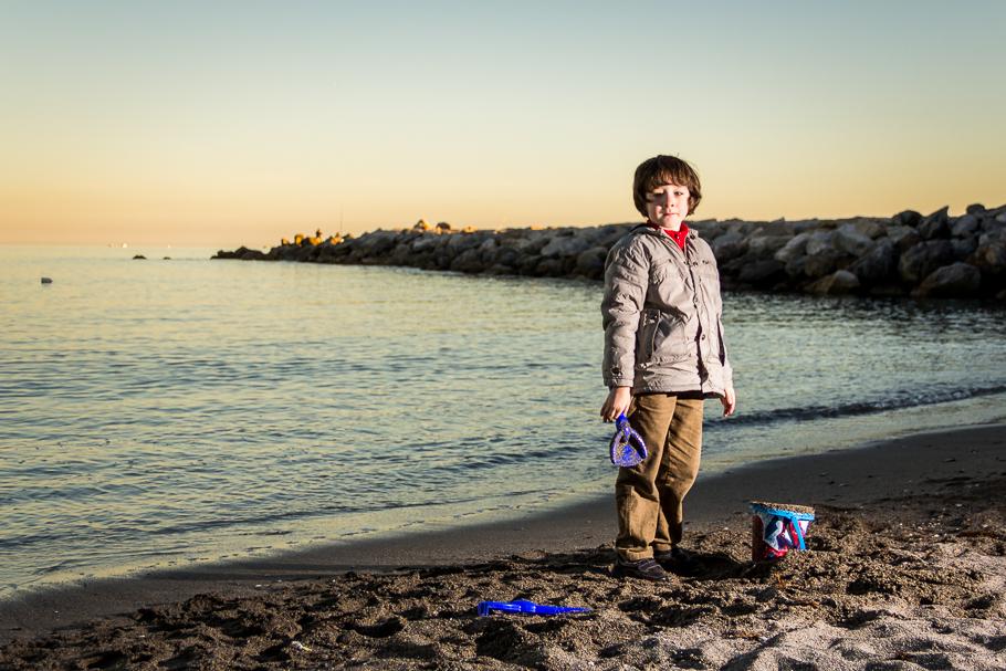 'Joaquín en la playa' de Carlos Larios