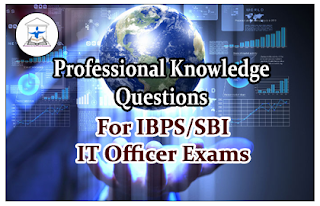 Professional Knowledge Questions for IBPS/SBI IT Officer Set-12