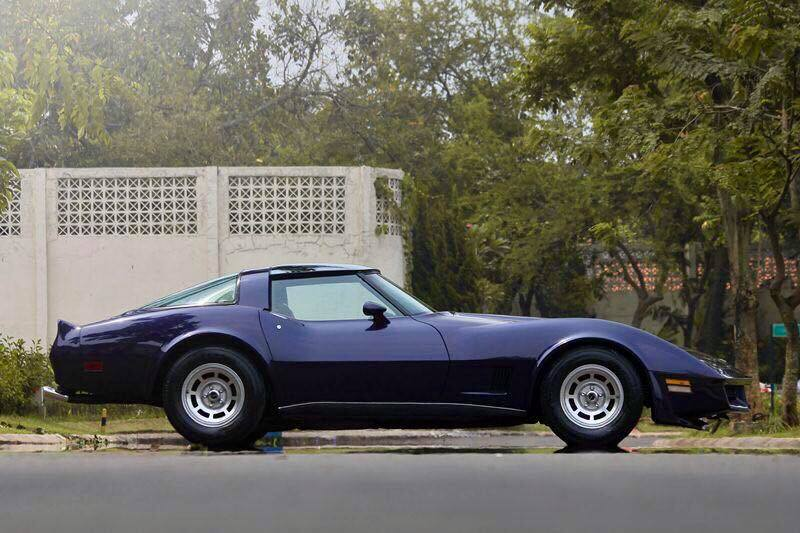 Muscle Car Collection Chevrolet Corvette Stingray 1982