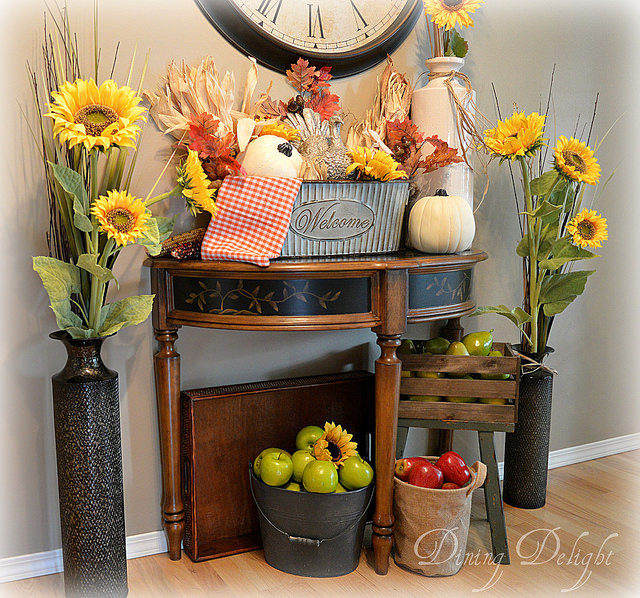 Dining Delight-Fall Kitchen-Treasure Hunt Thursday- From My Front Porch To Yours