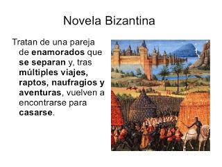 Resultado de imagen de novela BIZANTINA