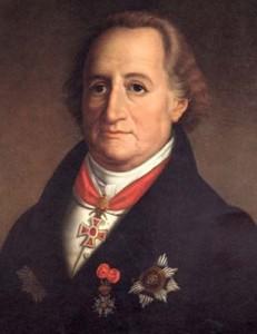 Breves biografías, Goethe,