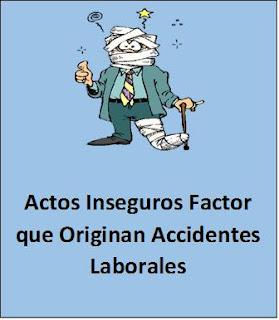 Actos Inseguros.
