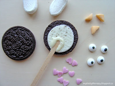 easter oreo cookie pops - how to