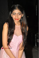 Actress Nidhisha Reddy Pos in Beautiful Pink Dress at Virus Telugu Movie Audio Launch .COM 0019.JPG