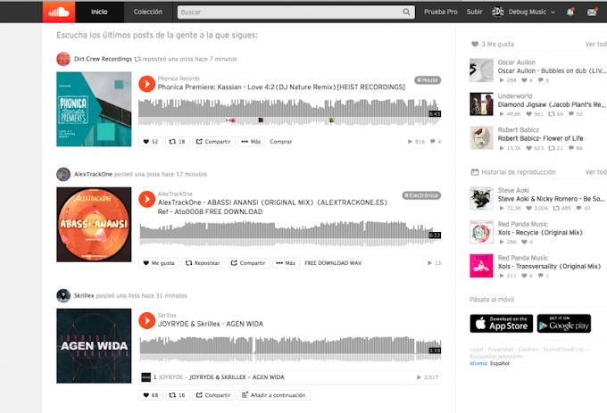 Soundcloud anuncia integración con Traktor, Serato, Virtual DJ, Dex 3 y DJuced