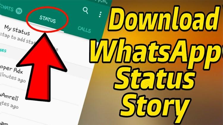 2 Cara Download Foto dan Video Status Story WhatsApp
