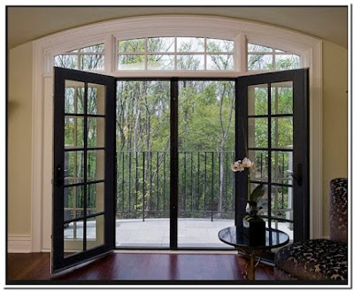 Awesome Single Patio Door With Screen