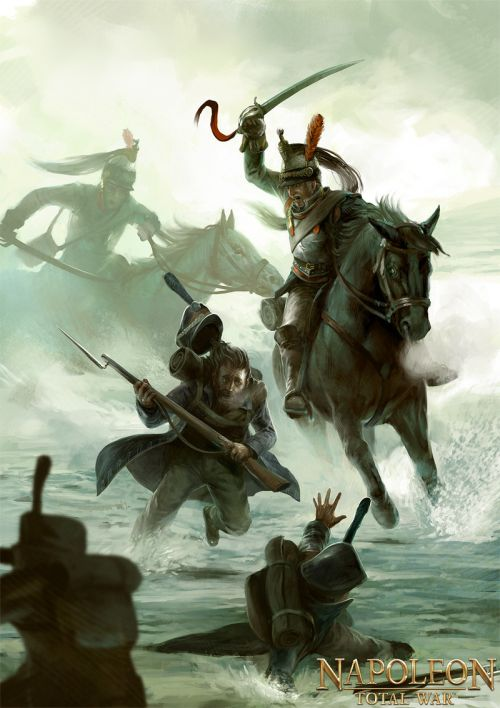 Bjorn Hurri ilustrações artes conceituais fantasia games Napoleon: Total War
